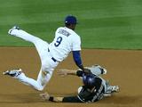 Apr 25  2014  Colorado Rockies vs Los Angeles Dodgers - DJ Mahieu  Dee Gordon