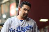 May 16  2014  Los Angeles Dodgers vs Arizona Diamondbacks - Adrian Gonzalez