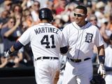 Jun 14  2014  Minnesota Twins vs Detroit Tigers - Miguel Cabrera  Victor Martinez