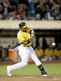 May 31  2014  Los Angeles Angels of Anaheim vs Oakland Athletics - Yoenis Cespedes