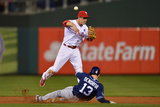 Jun 11  2014  San Diego Padres vs Philadelphia Phillies - Chase Utley  Chris Denorfia