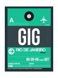 GIG Rio De Janeiro Luggage Tag 1