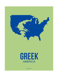 Greek America Poster 2