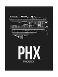 PHX Phoenix Airport Black