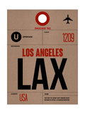 LAX Los Angeles Luggage Tag 1