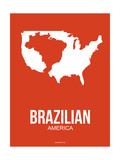 Brazilian America Poster 1