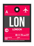 LON London Luggage Tag 2