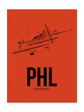 PHL Philadelphia Airport Orange