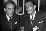 Jean Cocteau and Salvador Dali