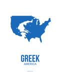 Greek America Poster 1