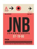 JNB Johannesburg Luggage Tag 2