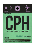 CPH Copenhagen Luggage Tag 1