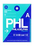PHL Philadelphia Luggage Tag 1