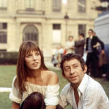 Jane Birkin and Serge Gainsbourg