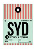 SYD Sydney Luggage Tag 1