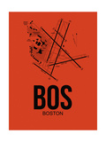 BOS Boston Airport Orange