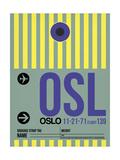 OSL Oslo Luggage Tag 1
