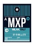 MXP Milan Luggage Tag 2