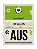AUS Austin Luggage Tag 1
