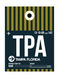 TPA Tampa Luggage Tag 2