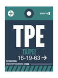 TPE Taipei Luggage Tag 1
