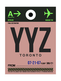 YYZ Toronto Luggage Tag 2