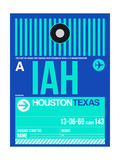IAH Houston Luggage Tag 2