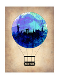 New York Blue Air Balloon