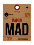 MAD Madrid Luggage Tag 2