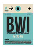 BWI Baltimore Luggage Tag 1