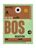 BOS Boston Luggage Tag 1
