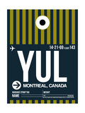 YUL Montreal Luggage Tag 1