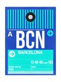 BCN Barcelona Luggage Tag 2
