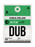 DUB Dublin Luggage Tag 1