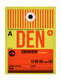 DEN Denver Luggage Tag 1
