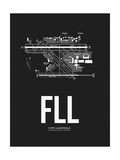 FLL Fort Lauderdale Airport Black