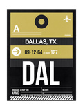 DAL Dallas Luggage Tag 2