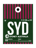 SYD Sydney Luggage Tag 2