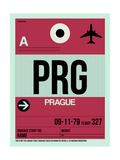 PRG Prague Luggage Tag 2