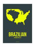 Brazilian America Poster 2