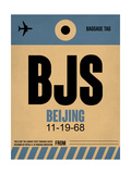 BJS Beijing Luggage Tag 2
