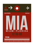 MIA Miami Luggage Tag 2