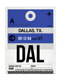 DAL Dallas Luggage Tag 1
