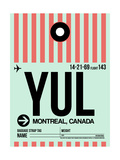 YUL Montreal Luggage Tag 2