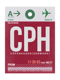 CPH Copenhagen Luggage Tag 2