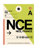NCE Nice Luggage Tag 2