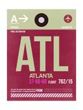 ATL Atlanta Luggage Tag 2
