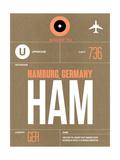HAM Hamburg Luggage Tag 2