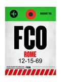 FCO Rome Luggage Tag 1