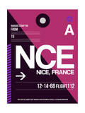 NCE Nice Luggage Tag 1